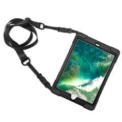 Rugged case  the iPad 2018/2017 9.7 hand & shoulder strap, kick stand and glass screen protector